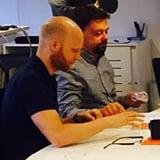Linus & Andreas lägger grunden för Meetio