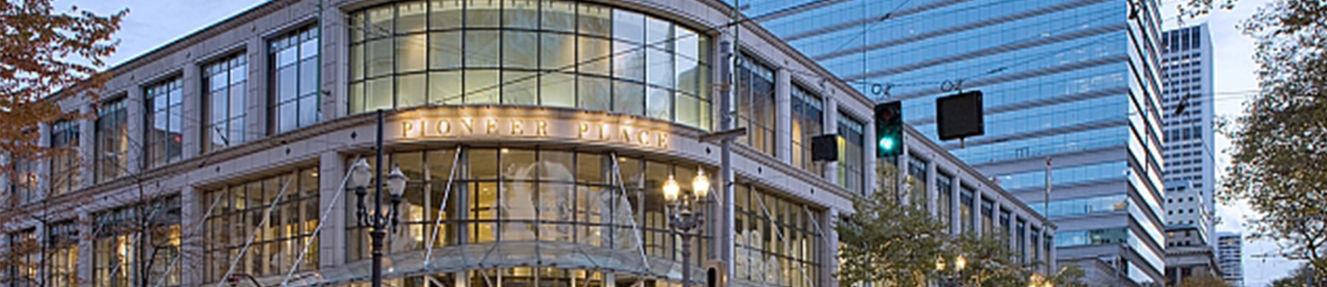 Pioneer place in Portland where Meetio's US office is located