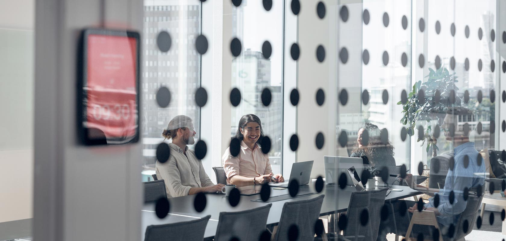 Group of people in a meeting room