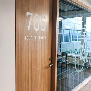 Meeting room named Tour de France
