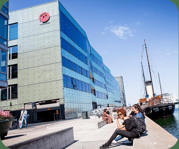 Malmö universitet exteriör