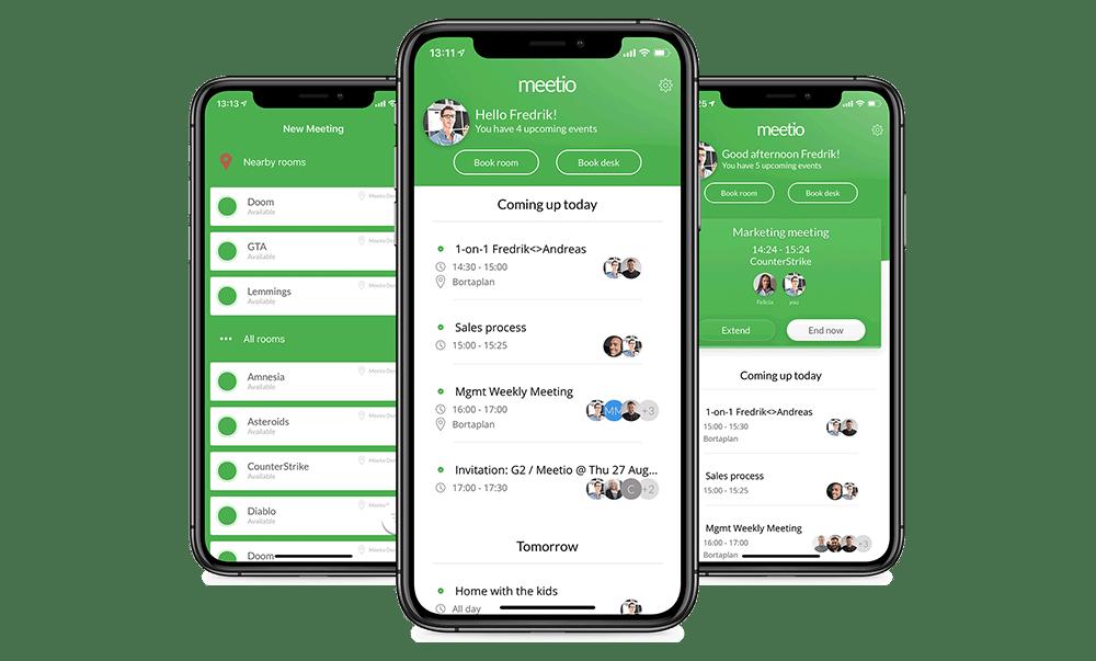Flexible mobile scheduling app