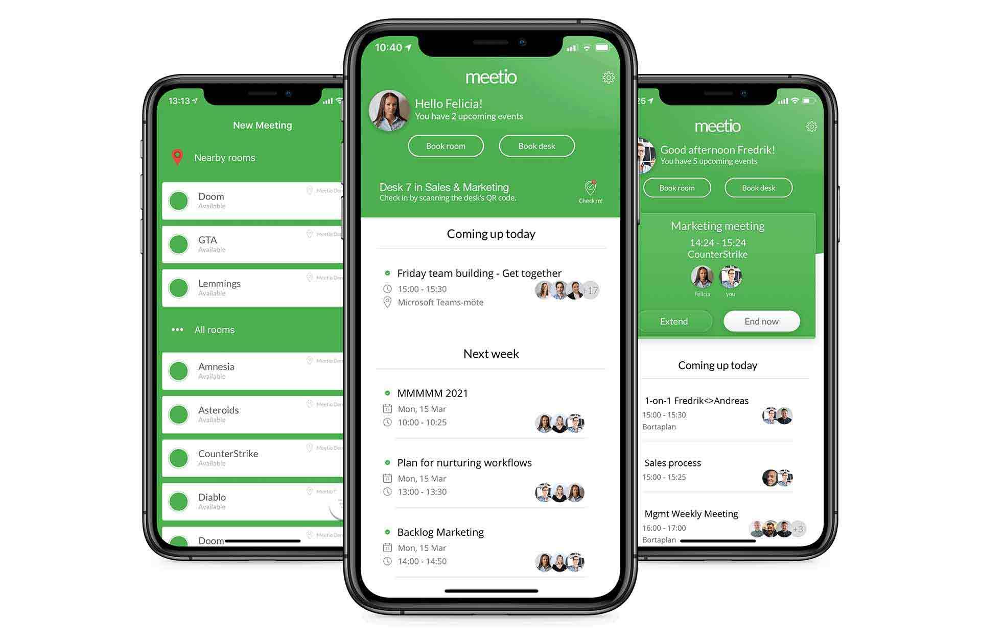 Meetio app