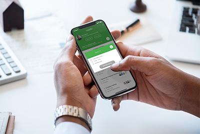 Meetio Desk reservation through the Meetio app