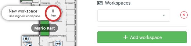 Add workspace to floorplan maps