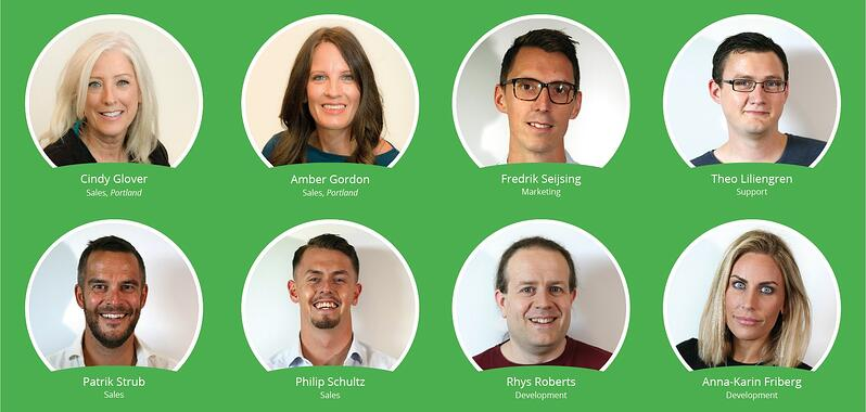 New Meetio Team members