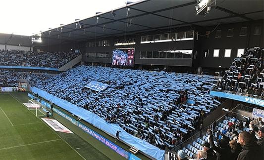 Malmö FF at Stadion