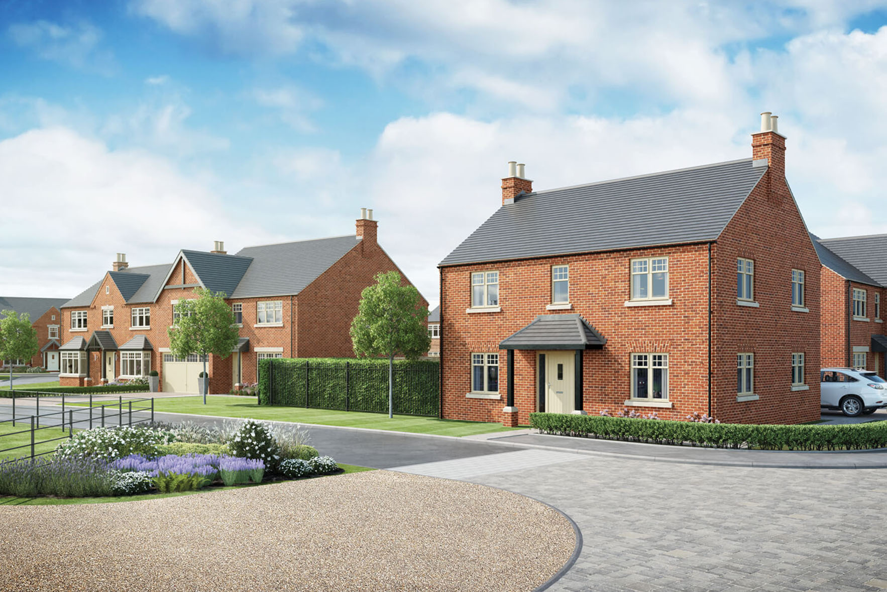 Residential development project by Duchy Homes