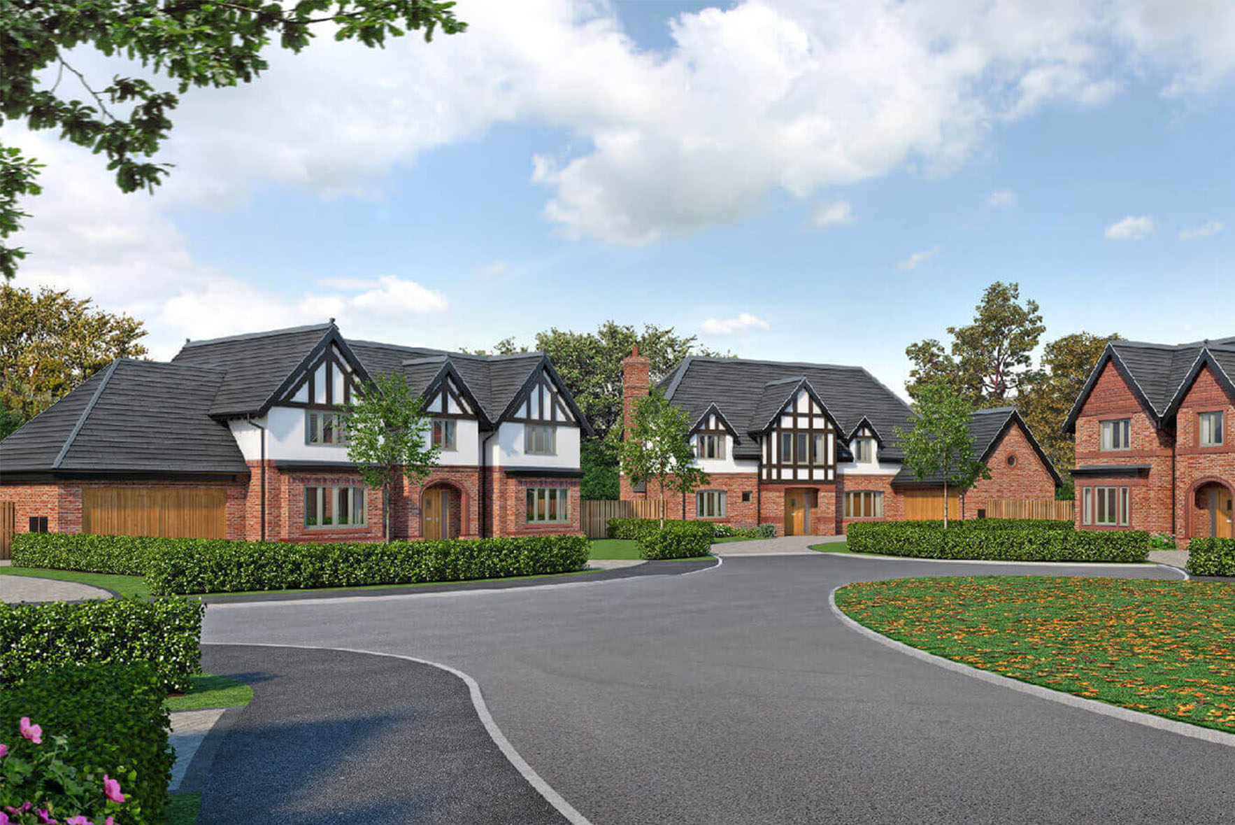 British countryside houses by Duchy Homes