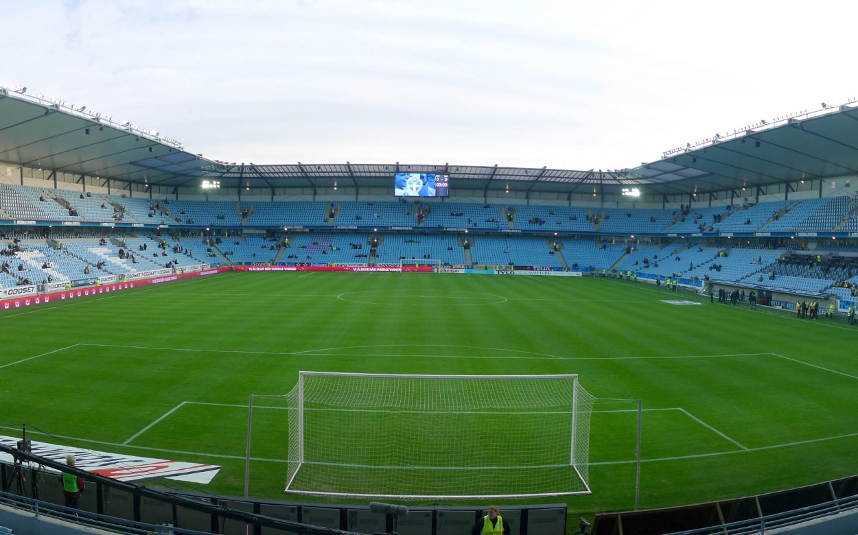 Malmö FF football stadium
